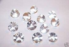Edible Sugar Diamonds Mini Clear 6mm (pack of 38) cake decoration wedding