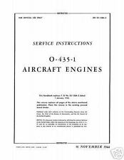 Lycoming  Service Instructions O-435-1 AN 02-15BA-2