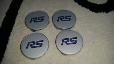 FORD RS FOCUS MK1 CENTER WHEEL CAPS X4 GENUINE