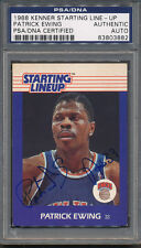 1988 Kenner Starting Line-Up P. Ewing PSA/DNA Certified Authentic Auto *3882