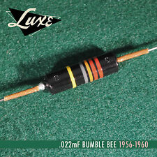 NO FRILLS Luxe BULK Bumble Bee Single .022uF Oil-Filled Vintage Spec40