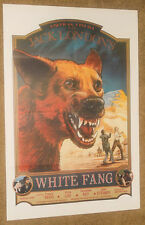 WHITE FANG MOVIE POSTER Original Folded 25x38 Inch 1974 LUCIO FULCI Zanna Bianca