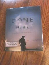 GONE GIRL (Blu-ray/Digital Copy+Amazing AMY Book,2015) New;Slipcover I Ship Fast