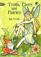 Coloring Books For Adults GrownUps Fairies Design Creative Relieving Stress