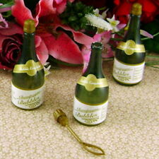 48 CHAMPAGNE BOTTLES BUBBLE BUBBLES WEDDING PARTY FAVORS FAST FREE SHIPPING