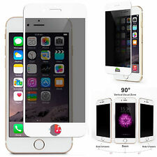 "Anti-Spy Privacy (White) Tempered Glass Screen Protector for 4.7"" iPhone 6 / 6S"