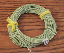 FLY LINE Weight Forward Floating 6WT Loop End, Moss Green slick finish 85' LN430