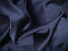 Navy Duchess Satin Bridal/Wedding/Dress Fabric 150cm wide SOLD PER METRE