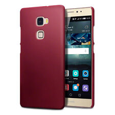 Huawei Mate S Case Rigid Hybrid Rubberised Durable Silicone Rugged Tech Red 2118