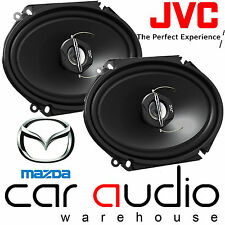 "MAZDA MX5 MK2 1998 - 2005 5x7"" 6x8"" 500W 2-Way JVC Front Car Door Speakers Pair"