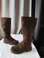 bottes kickers daim marron pointure 36