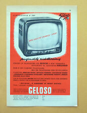 D089 - Advertising Pubblicità -1959- GELOSO TELEVISORE , CINESCOPIO A 110°