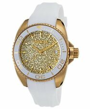 Invicta Angel Glittery Gold Dial Ladies Watch 22703