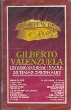 Gilberto Valenzuela 20 Temas Originales Cassette New Sealed