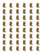 "48 SCOOBY DOO ENVELOPE SEALS LABELS STICKERS 1.2"" ROUND"