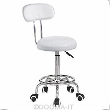 Salon Massage Chair Hairdressing Styling Beauty Barber Stool Removable Backrest