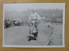 photo MOTO CROSS  : course 350 cc & 500 cc  année 60