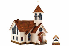 "HO Woodland Scenics ""Built & Ready"" 5041 * Community Church * NIB"