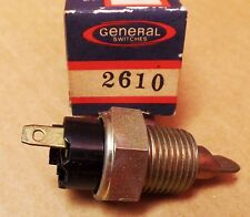 General 2610 - WT340 Engine Oil Temperature Switch Fits GMC Van 1968 MADE IN USA