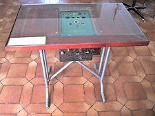 L'ARBITRE :  TABLE A JEU DE CAFE avec sa règle du jeu