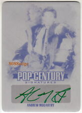 2015 POP CENTURY PRINT PLATE AUTO:ANDREW McCARTHY #1/1 OF ONE AUTOGRAPH ST. ELMO
