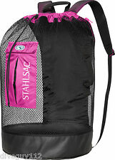 Stahlsac Bonaire Scuba Diving Travel Mesh Backpack Gear Bag Pink NEW