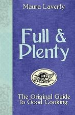 Full & Plenty, Maura Laverty, Very Good, Hardcover
