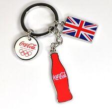 Coca-Cola Catena chiave Olympia 2012 Coke Union Jack Bottiglia M3 portachiavi