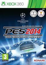 XBOX360 PES 2014 Pro Evolution Soccer NEW SEALED