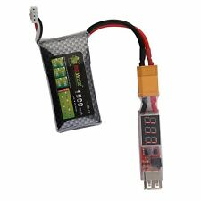 2S-6S Lithium Lipo Battery XT60 Plug to USB 5V Charger Converter Adapter Module