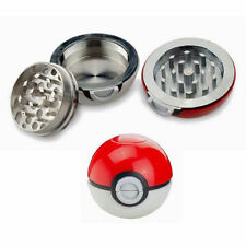 Pokemon Pokeball 55mm grinder NEW style Tobacco Spice Herb 3 Layer Sharp Teeth