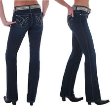 Wrangler Q-Baby Cowgirl Cut WRQ25ST Booty Up Stretch Jeans - Size 9/10 =Aus 14