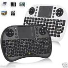 2.4G Mini Wireless Keyboard Keypad Air Mouse Touchpad For Smart TV Box PC Laptop