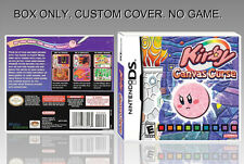 NINTENDO DS : KIRBY. ENGLISH. UNOFFICIAL COVER. ORIGINAL BOX. (NO GAME).