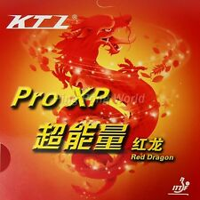 Free shipping, KTL Pro-XP Red Dragon Pips-In Table Tennis Rubber with sponge
