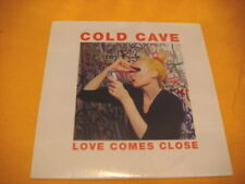 Cardsleeve Full CD COLD CAVE Love Comes Close PROMO 9TR 2009 EBM synth pop exp