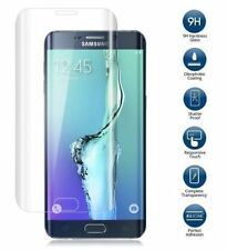Samsung Galaxy S7 Edge 3D Transparent Tempered Glass Temper Glass Screen protect