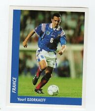 figurina DS CALCIATORI WORLD CUP FRANCE 98 NUMERO 134 FRANCIA DJORKAEFF