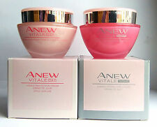 Avon Anew Vitale visible la perfección Crema Set-Day Cream & Crema de noche 50 Ml
