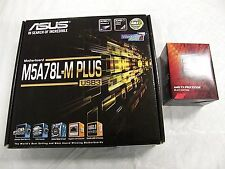 NEW in BOX AMD FX8320E 8 Core BlackEdition 3.2GHz upto 4GHz CPU + ASUS M.B Combo