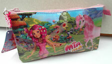 MIA and ME - Triple Pencil / Vanity Case with Zipper - Size: 22 x 12 x 5cm