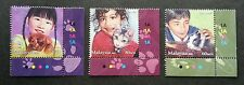 Children Pets Malaysia 2011 Cat Dog Rabbit Animal (stamp with color code) MNH