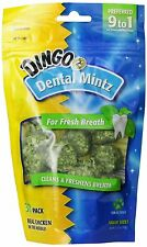 Dingo Dog Puppy Chew Treats Oral Dental Mintz Tooth Care Tater 30-Count Bag