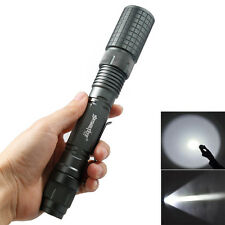 CREE XM-L T6 Zoomable 6000 Lumen 5 Modes Tactical LED Flashlight Torch Lamp