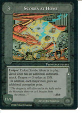 MIDDLE EARTH THE DRAGONS RARE CARD SCORBA AT HOME