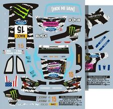 DECALS 1/24 FORD FIESTA RS #15 KEN BLOCK - RALLYE RACC 2014 - COLORADO 24167