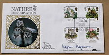 NATURE CONSERVATION 1986 BENHAM FDC SIGNED BY THE TV PRESENTER MAGNUS MAGNUSSON