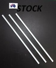 3 pcs ABS Plastic Tube Square 6mm for hobbyist & model building
