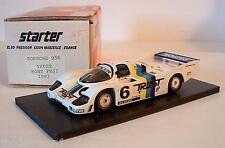 Starter 1/43 Porsche 956 Wsc Monte Fuji 1983 # 6 confianza schuppan construidas a mano Modelo
