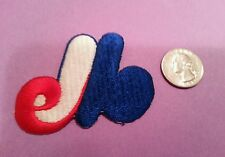 Montreal Expos logo embroidered iron on patch vintage 2.5 x 2""